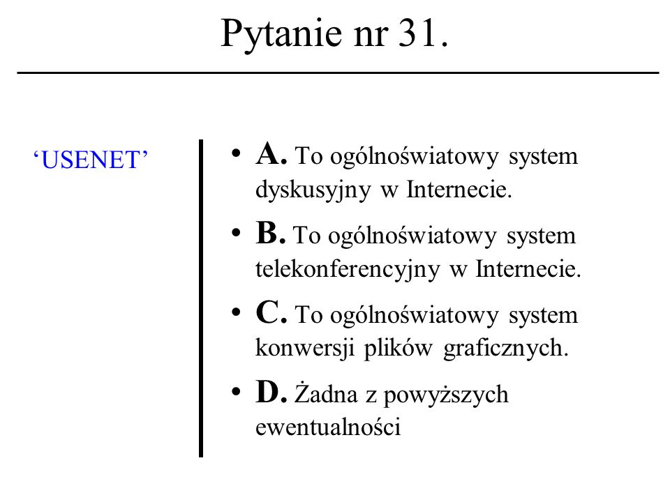 Pytanie nr 30.