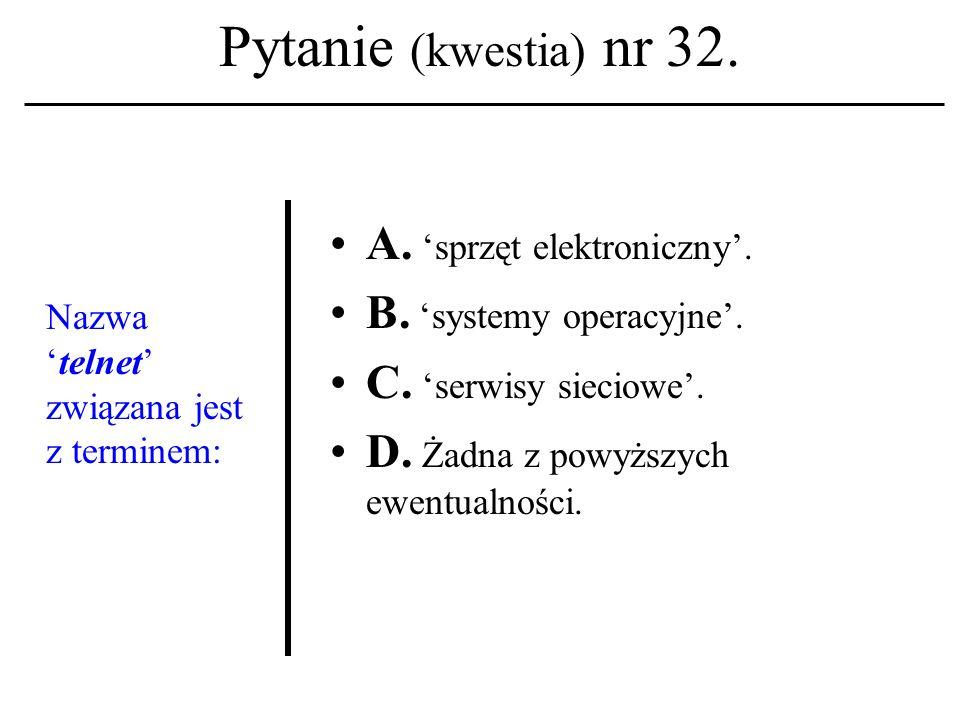 Pytanie (kwestia) nr 31. Kwestia paszporty- zacji i autentykacji (wykład nr 13 ) związana była z projektem firmowanym przez korporację: A. Symantec Co