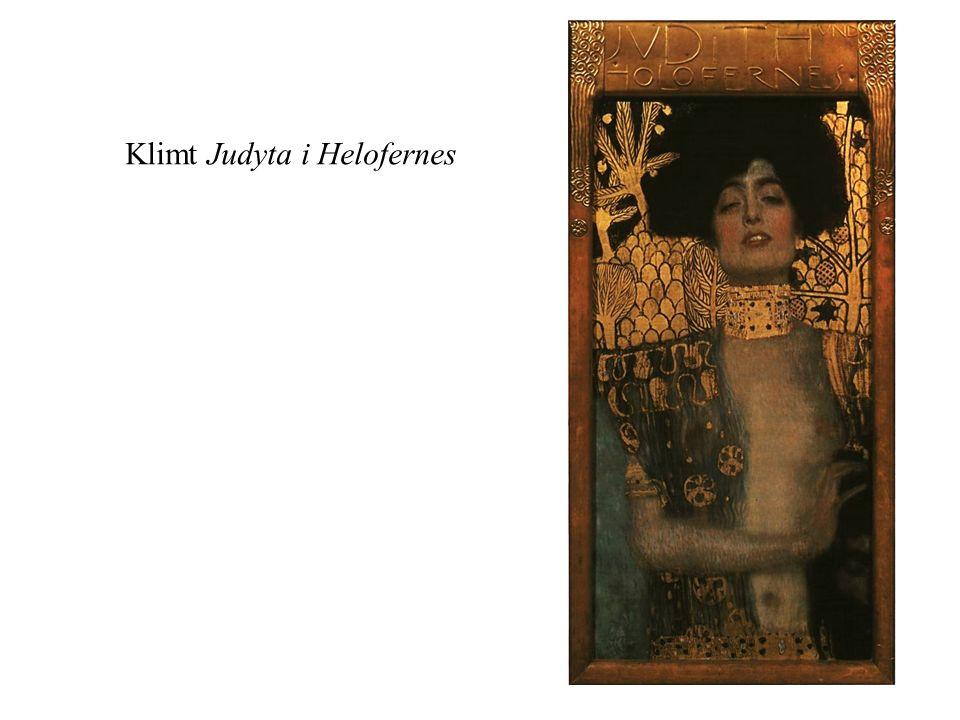 Klimt Judyta i Helofernes