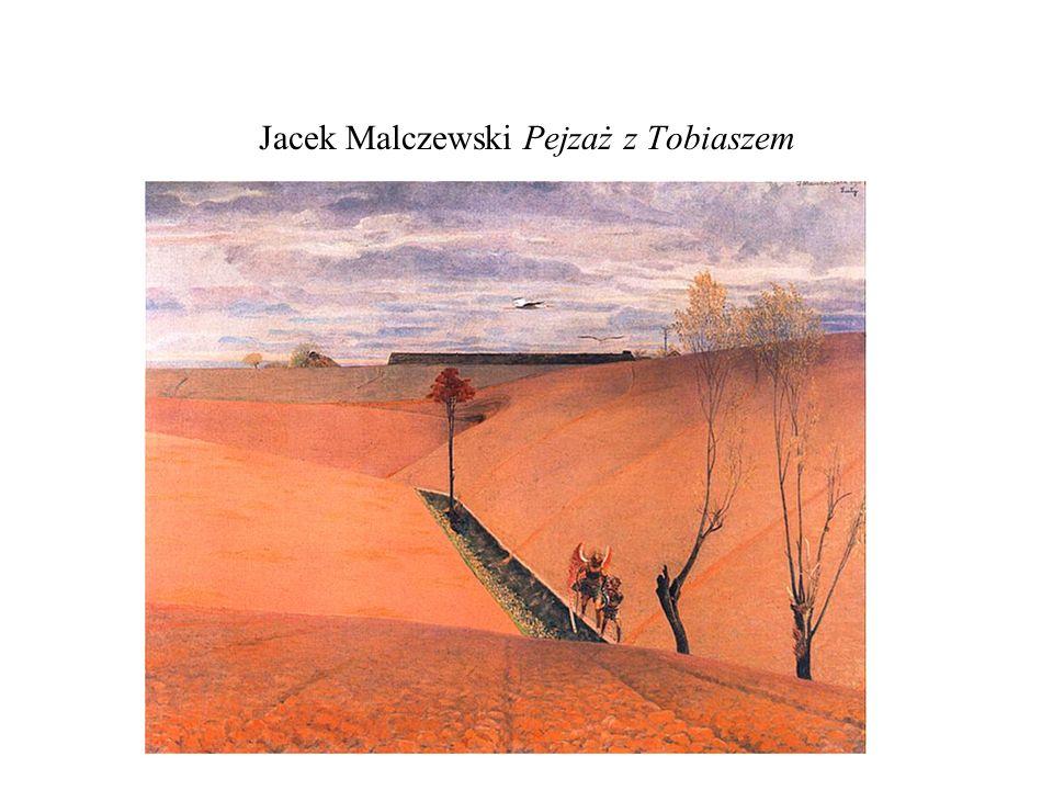 Jacek Malczewski Pejzaż z Tobiaszem