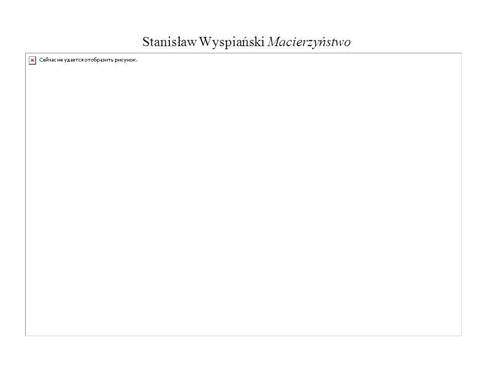 Stanisław Wyspiański Macierzyństwo