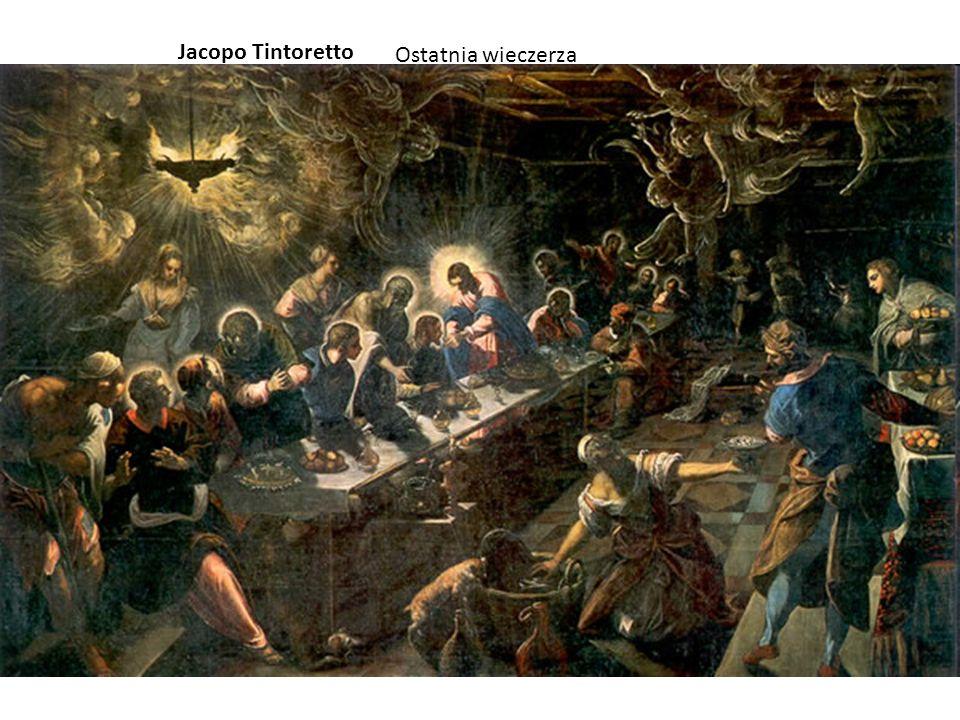 Ostatnia wieczerza Jacopo Tintoretto