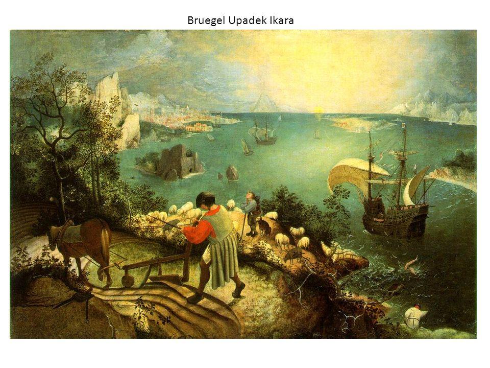 Bruegel Upadek Ikara