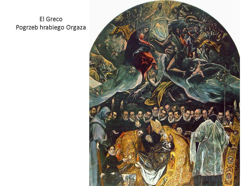 El Greco Pogrzeb hrabiego Orgaza