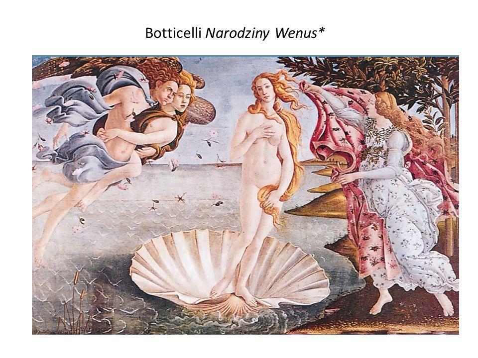 Botticelli Narodziny Wenus*