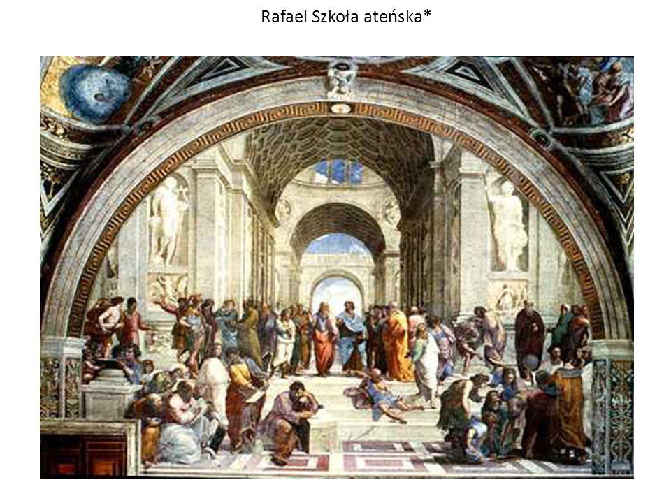 Rafael Szkoła ateńska*