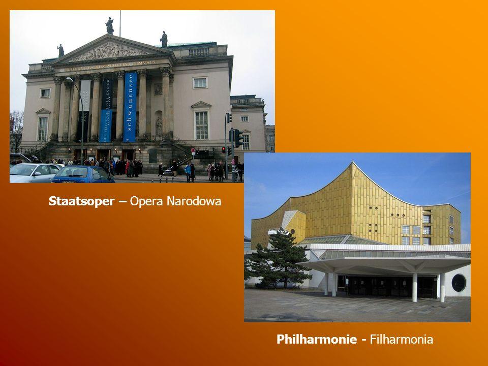 Museuminsel W Berlinie znajdują się liczne muzea.