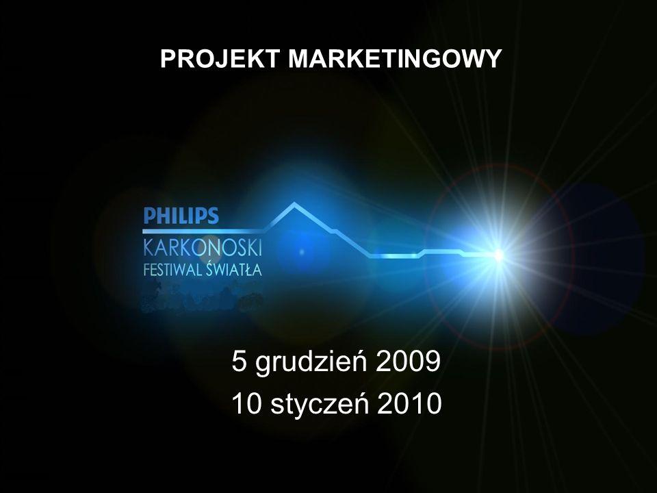 Cel projektu Promocja energooszczędnych sposobów oświetlenia przestrzeni publicznych i prywatnych, Edukacja ekologiczna, Promocja sztuki, Promocja marki Philips oraz sprzętu oświetleniowego produkowanego przez Philips, Promocja fotografowania iluminacji, Prezentacja różnorodnych sposobów wykorzystania światła dla celów: rehabilitacji, rozrywki i relaksacji, Kreowanie wizerunku Jeleniej Góry i rejonu Karkonoszy jako miejsca stosowania nowatorskich rozwiązań w zakresie oświetlenia i atrakcyjnych wydarzeń kulturalnych, Stworzenie w okresie zimowym nowego, atrakcyjnego produktu turystycznego,