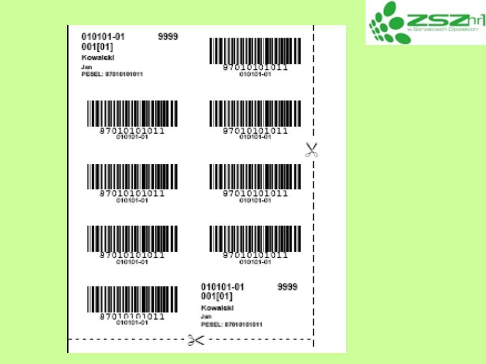 Czynności organizacyjne po rozpoczęciu egzaminu: Przewodniczący i Członkowie ZNEP rozdają materiały egzaminacyjne sprawdzają oznakowania arkuszy i materiał ó w omawiają spos ó b wypełniania Karty Pracy Egzaminacyjnej (numerowanie stron, opisywanie załącznik ó w) oraz wypełnianie i kodowania Karty Oceny (przyklejanie naklejek) wymieniają ewentualne arkusze uszkodzone, niekompletne (adnotacja i podpis zdającego w Protokole) Zdający: zapoznają się z Informacją dla zdającego sprawdzają kompletność i czytelność materiał ó w oraz zgłaszają ewentualne usterki wypełniają Karty Pracy Egzaminacyjnej i Karty Oceny, przyklejają naklejki