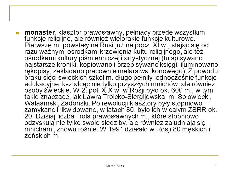Małek Eliza 13 Monaster Cyrylo-Białozierski