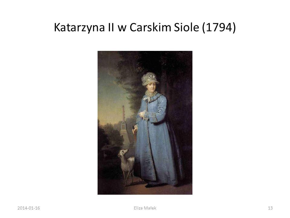 Katarzyna II w Carskim Siole (1794) 2014-01-1613Eliza Małek