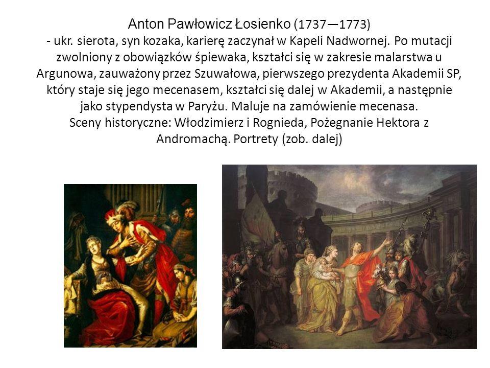 Portrety Szuwałowa (1760) i F.