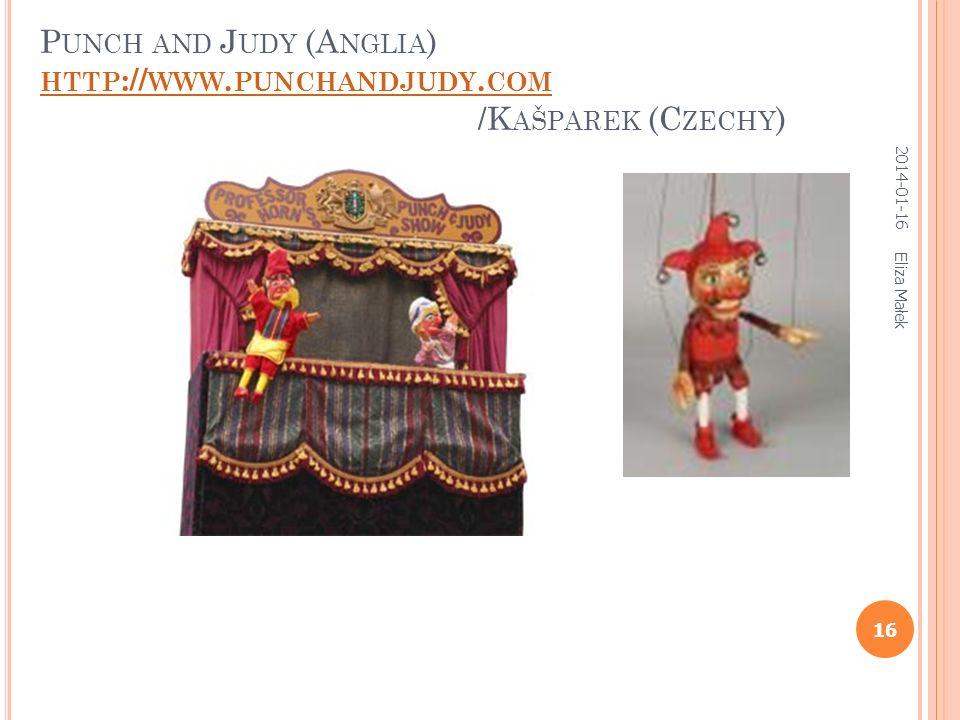 2014-01-16 Eliza Małek 15 Por. lalkę przedstawiającą Guignola Francuski Guignol www.arbredenoel.fr/.../item.php?itemid=35