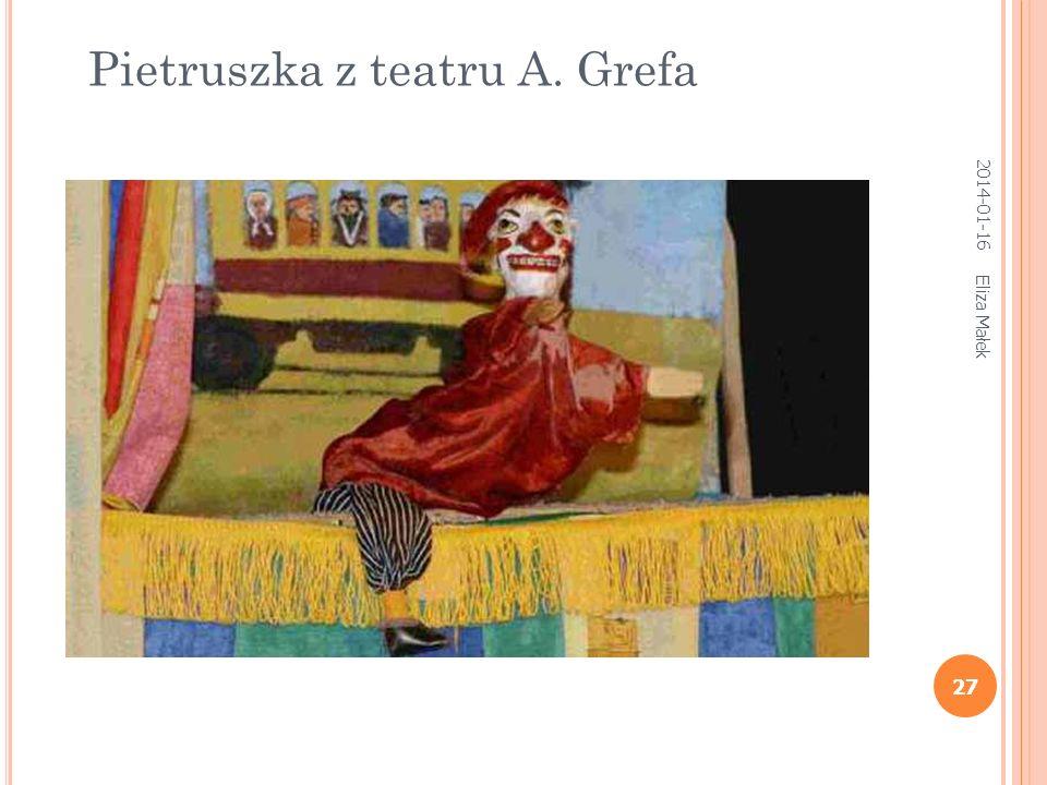 Eliza Małek 27 Pietruszka z teatru A. Grefa