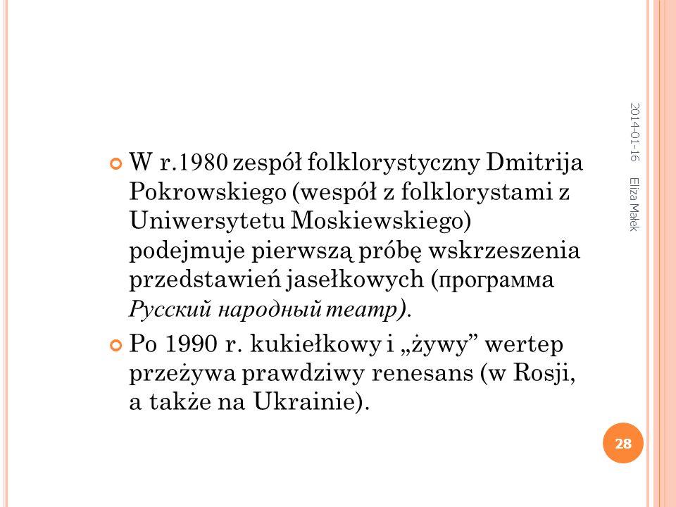 Eliza Małek 28 W r.