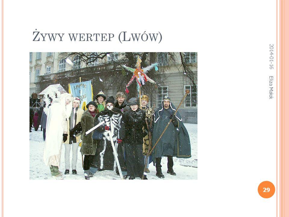 Eliza Małek 28 W r. 1980 zespół folklorystyczny Dmitrija Pokrowskiego (wespół z folklorystami z Uniwersytetu Moskiewskiego) podejmuje pierwszą próbę w