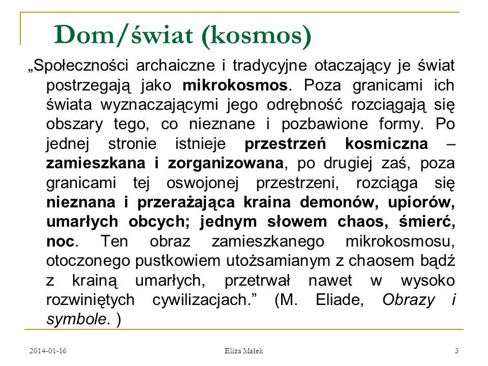 2014-01-16 Eliza Małek 34 Izba paradna (biała) (горница) domu rodziców Jesienina