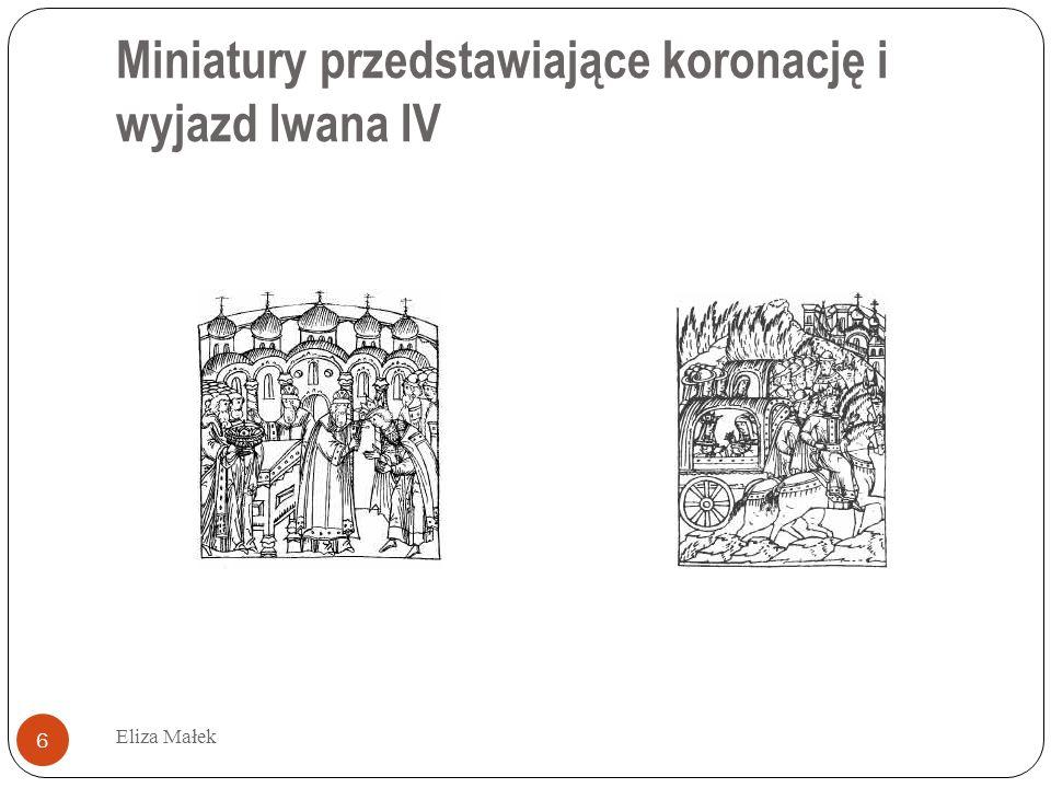 Kanon i łamanie zasad Eliza Małek 7 Iwan Groźny doskonale zna reguły konstruowania tekstów epistolarnych, ale stosuje je wybiórczo.