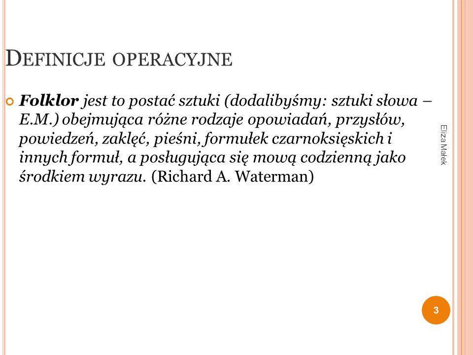 E WOLUCJA SZTUKI SŁOWA ( СЛОВЕСНОСТЬ ) Folklor archaiczny (okres przedpiśmienny) jako jedyna forma sztuki słowa.