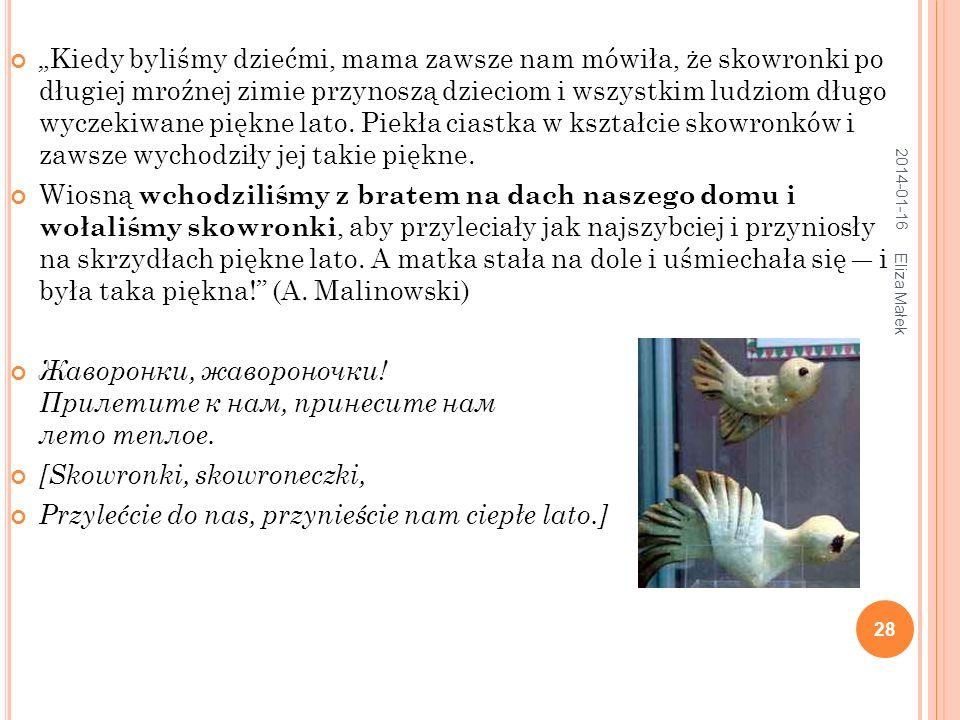 2014-01-16 Eliza Małek 29 Весна, весна красная.