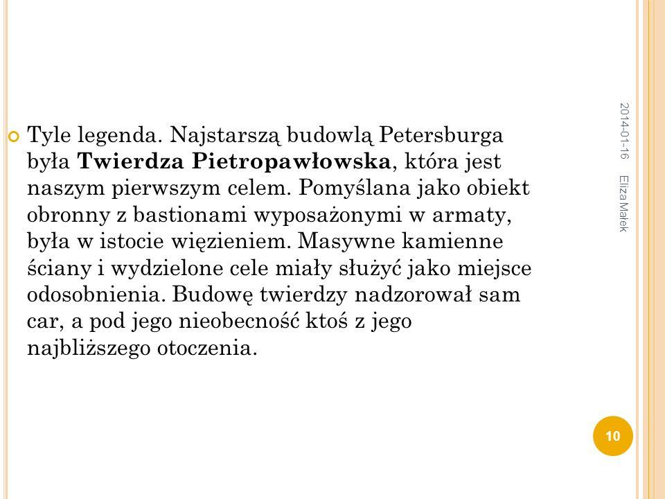 Tyle legenda. Najstarszą budowlą Petersburga była Twierdza Pietropawłowska, która jest naszym pierwszym celem. Pomyślana jako obiekt obronny z bastion