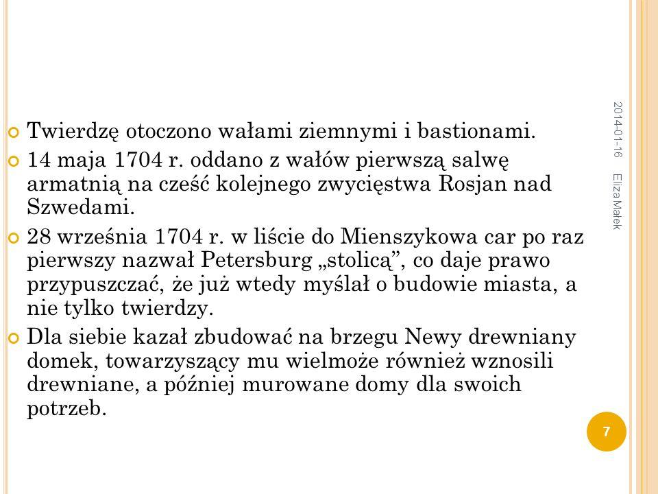 W NĘTRZE DOMKU P IOTRA I 2014-01-16 8 Eliza Małek