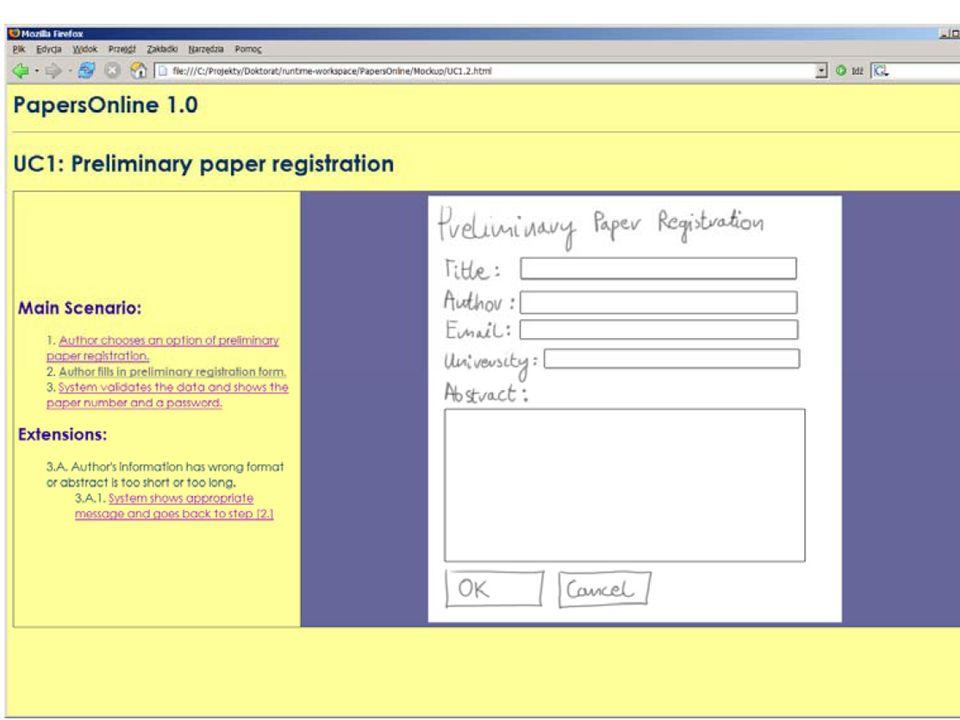 Programowanie Programowanie parami jest kluczową praktyką w XP Para programistów wyposażona w jeden komputer jest przydzielana do zadania programistycznego Jeden z programistów pisze kod, natomiast drugi śledzi jego pracę, zadaje pytania i proponuje przypadki testowe, tak więc zapewnia to tzw.