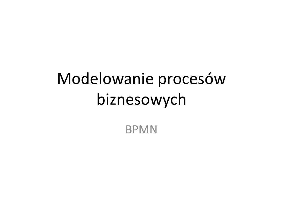 Modelowanie procesów biznesowych BPMN