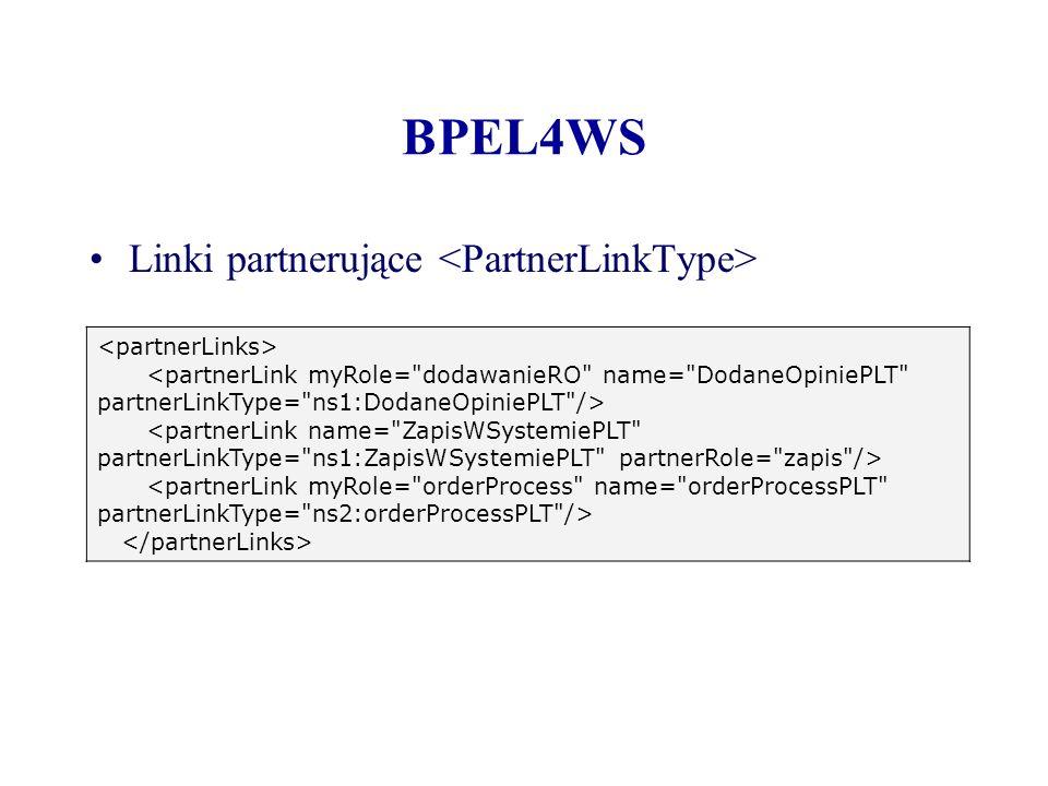 BPEL4WS Linki partnerujące