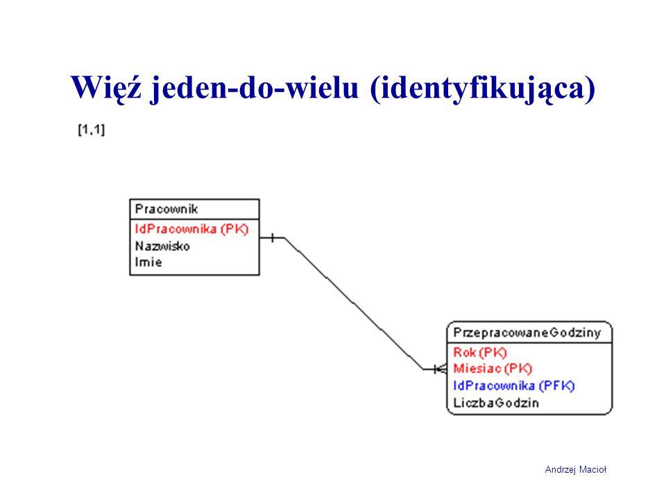 Andrzej Macioł Więź jeden-do-wielu (identyfikująca)
