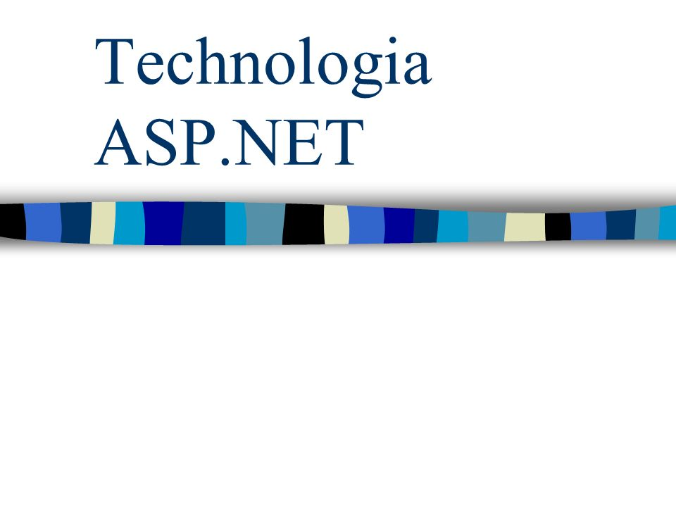 Technologia ASP.NET