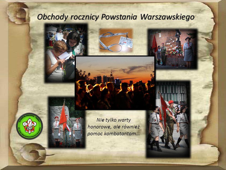 Obchody rocznicy Powstania Warszawskiego Nie tylko warty honorowe, ale również pomoc kombatantom…