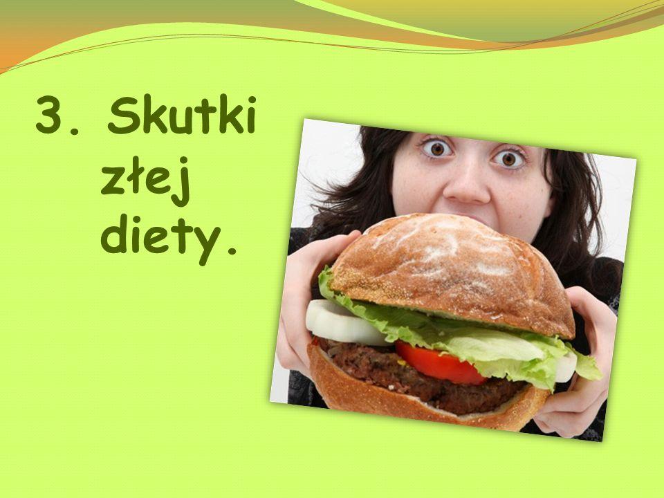 3. Skutki złej diety.