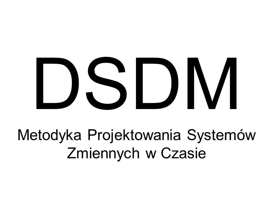 DSDM Metodyka Projektowania Systemów Zmiennych w Czasie