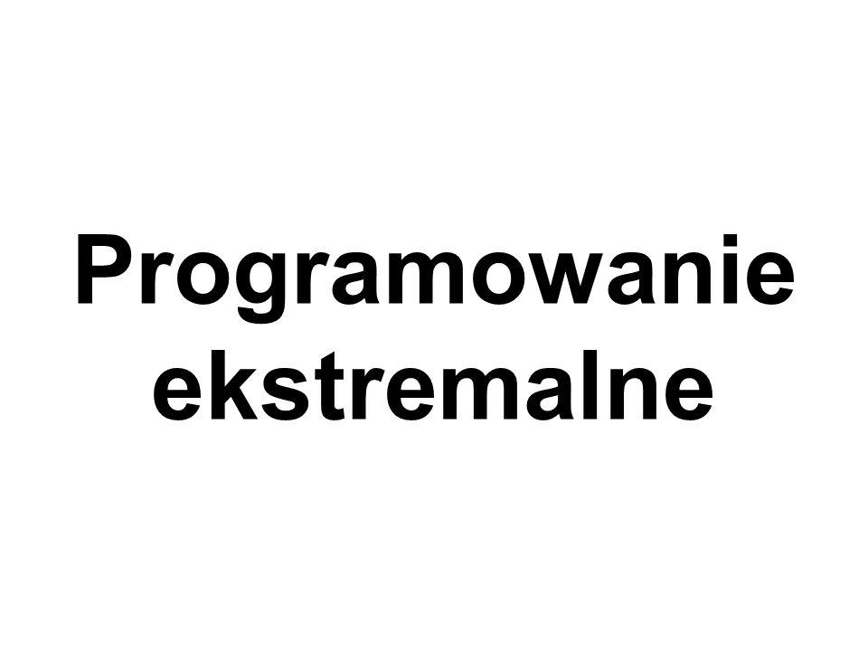 Programowanie ekstremalne