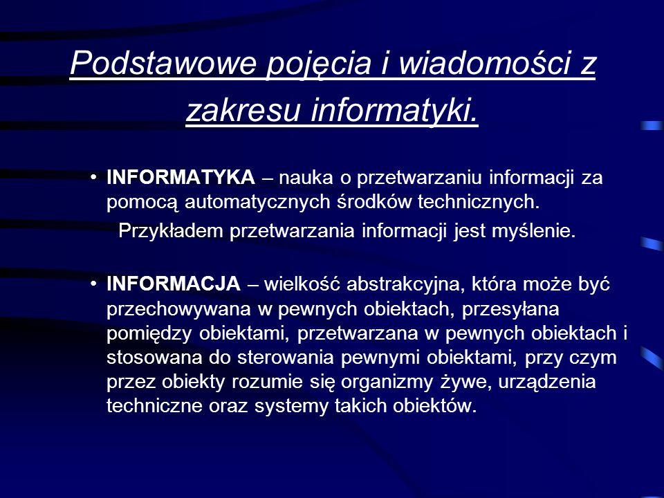 Technologia informacyjna. Technologia informacyjna to zespół środków informatycznych (czyli urządzeń takich jak komputery, sieci komputerowe), narzędz