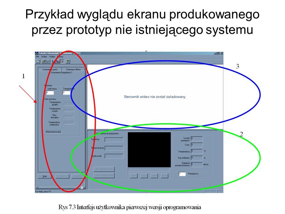 Tworzymy serię prototypów z których każdy następny jest rozwiniętą wersją poprzedniego, kończącą się finalnym systemem.