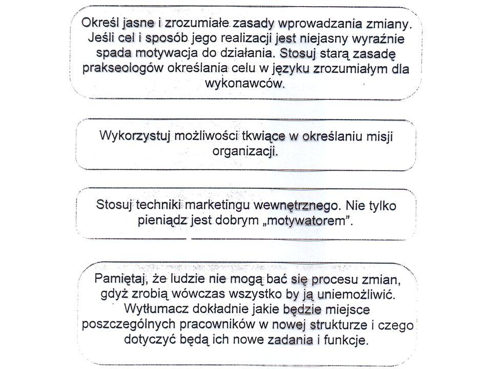 Przykładowa struktura systemu organizacyjnego i technicznego wspomagającego proces pielęgnacji
