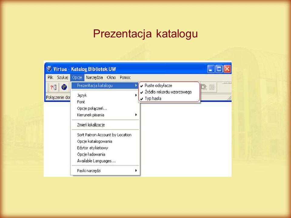 Prezentacja katalogu