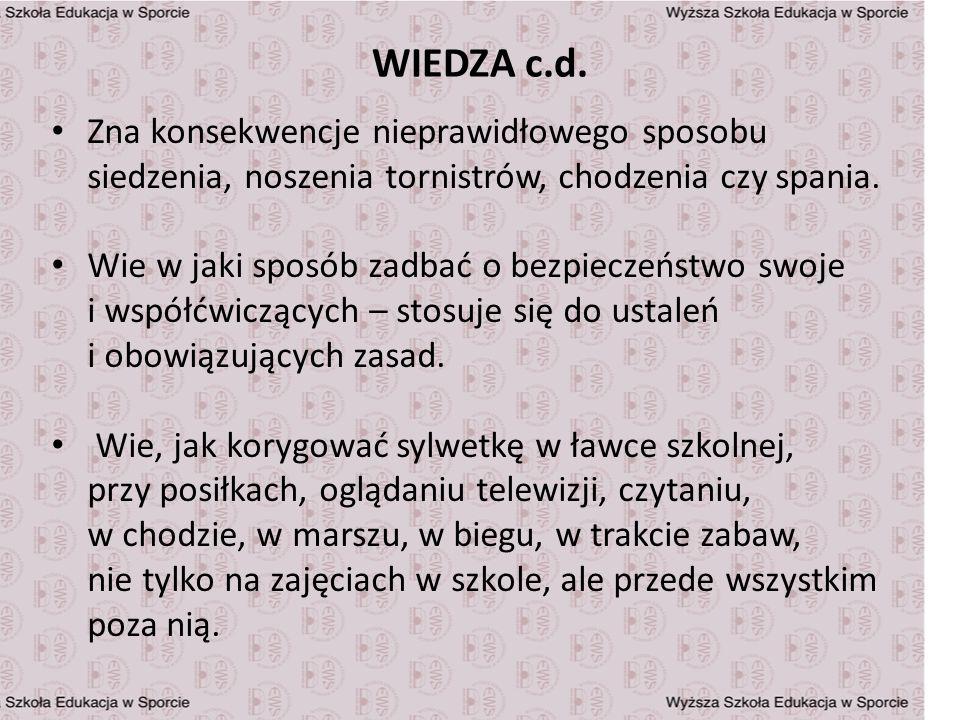 WIEDZA c.d.