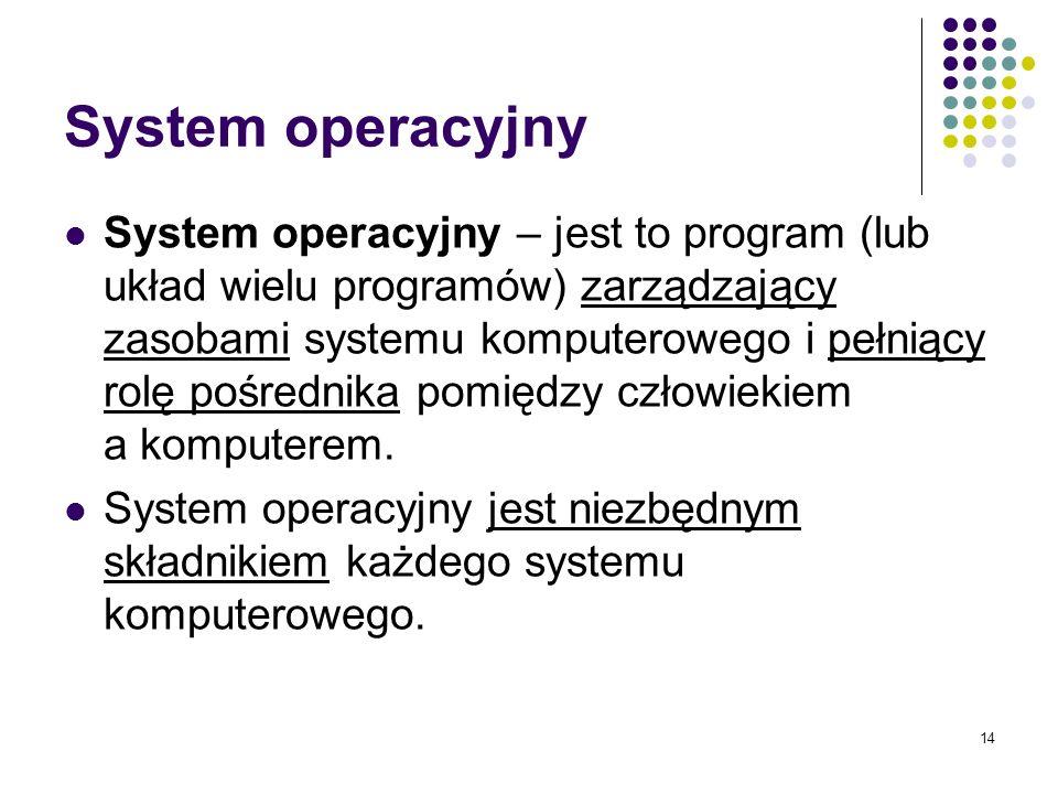 13 Oprogramowanie jest nie tylko droższe od sprzętu komputerowego, ale w dodatku częściej się psuje
