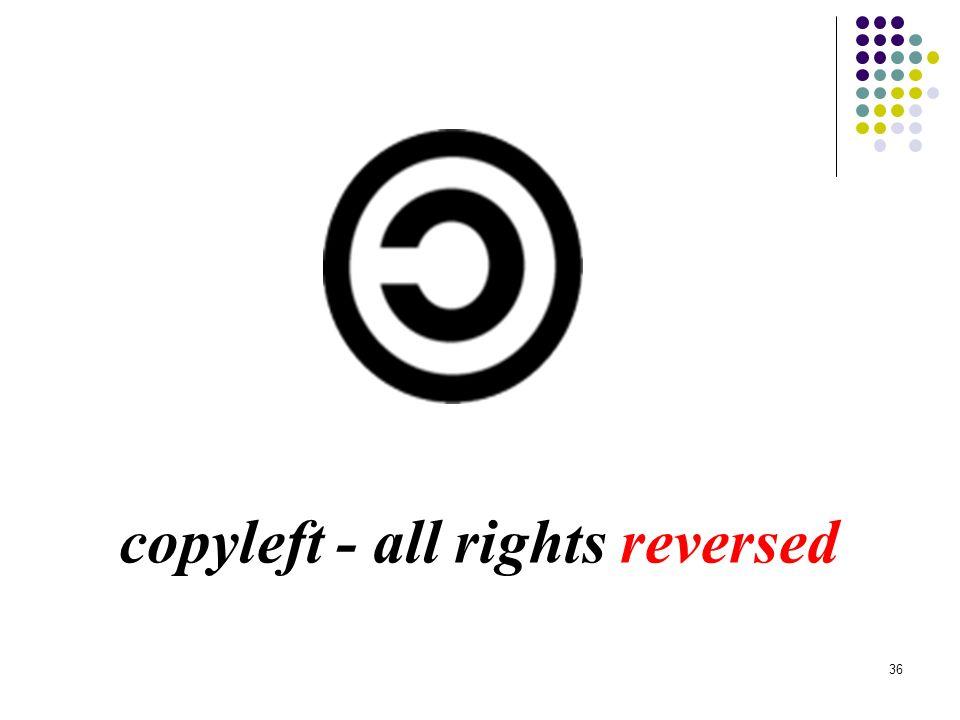 35 Jeszcze jedna ideologia: copyleft