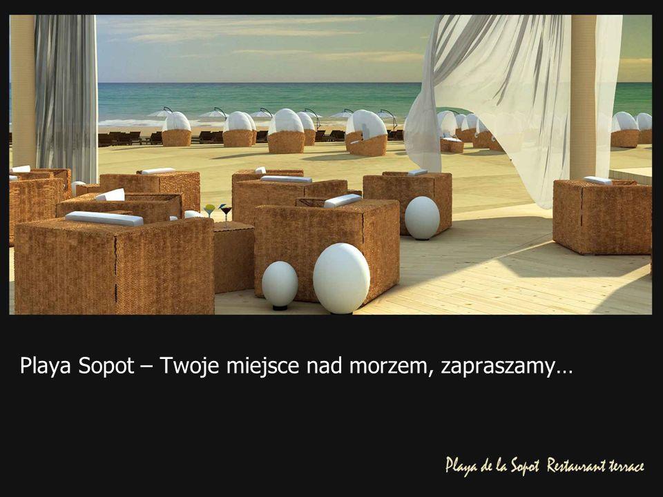 Playa Sopot – Twoje miejsce nad morzem, zapraszamy…
