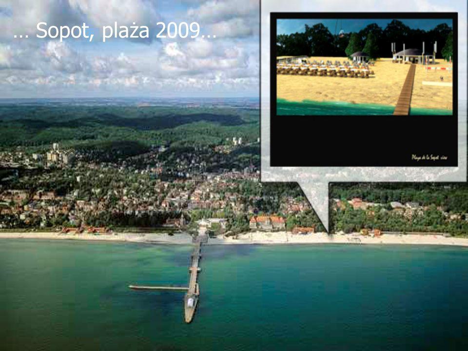 … Sopot, plaża 2009…