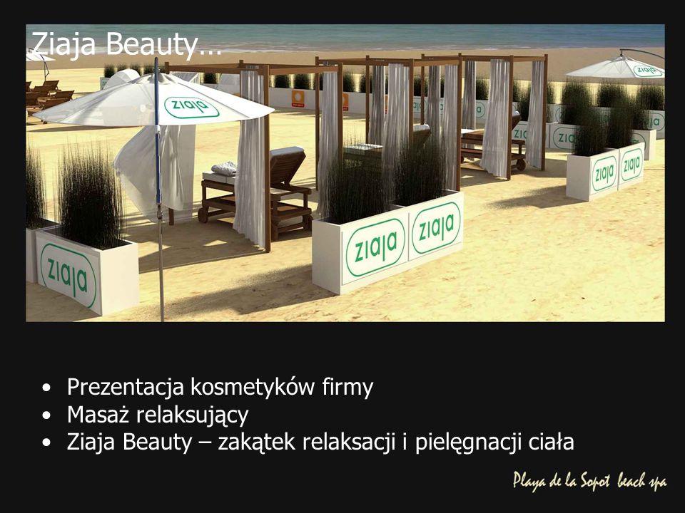 Ziaja Beauty… Prezentacja kosmetyków firmy Masaż relaksujący Ziaja Beauty – zakątek relaksacji i pielęgnacji ciała