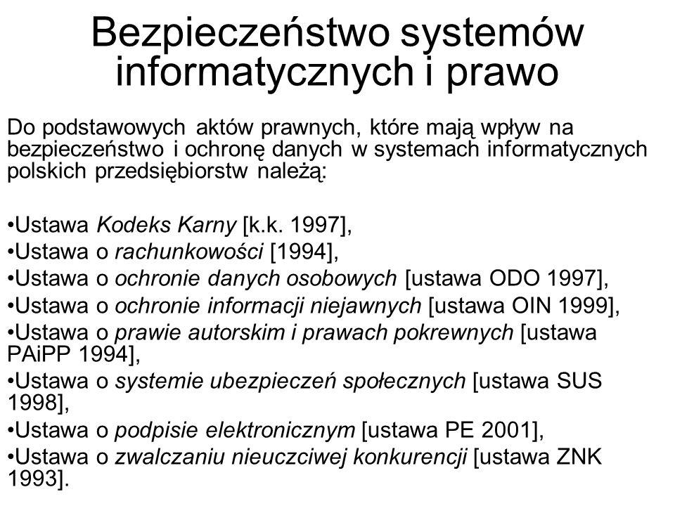 System kontroli bezpieczeństwa informatycznego dużej firmy