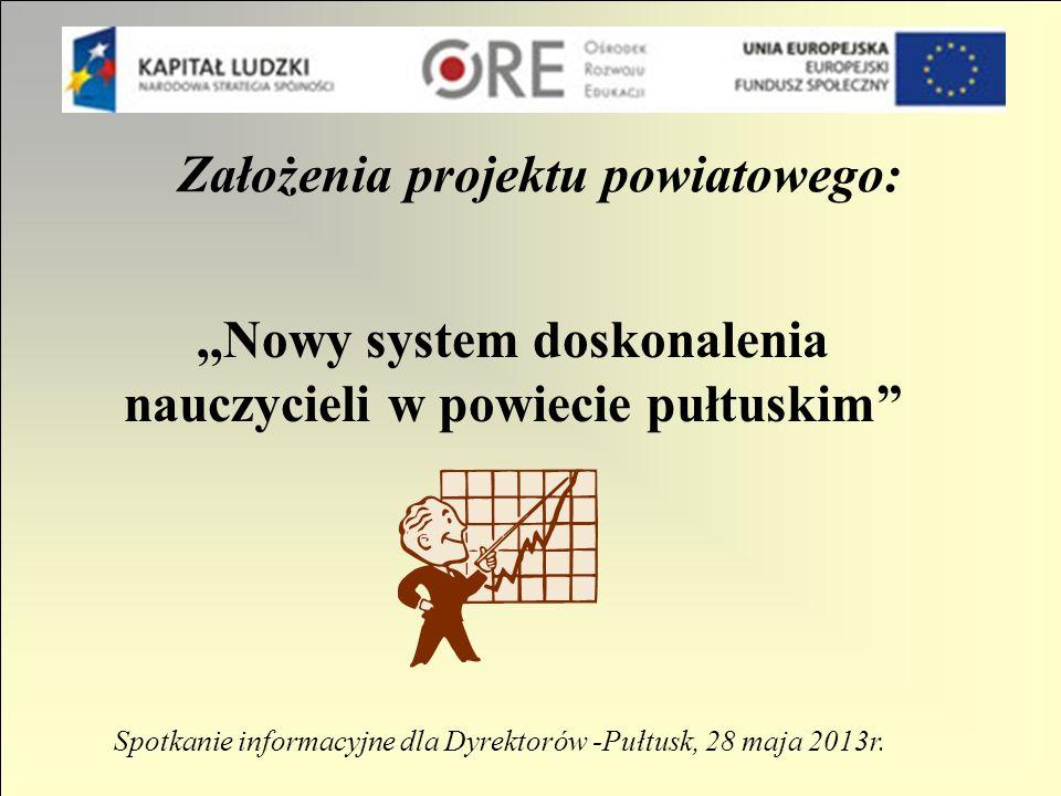Projekt realizowany przez powiat pułtuski w ramach: Działania 3.5.