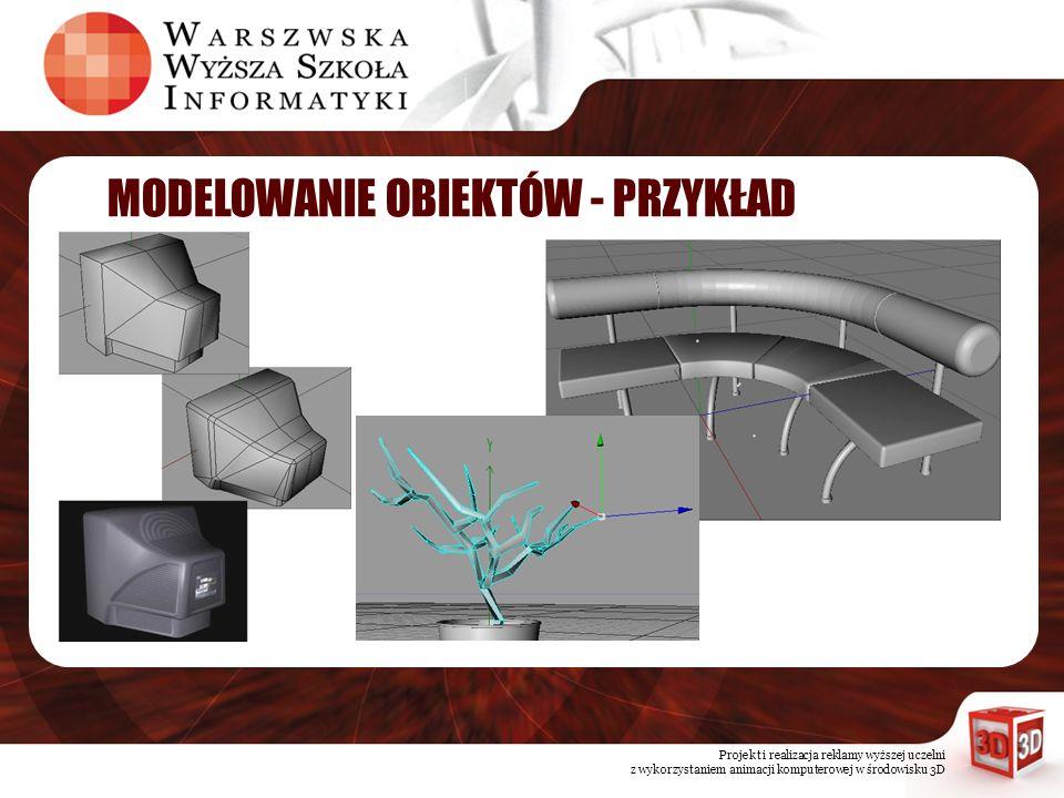 Projekt i realizacja reklamy wyższej uczelni z wykorzystaniem animacji komputerowej w środowisku 3D MUZYKA PROBLEM 1.