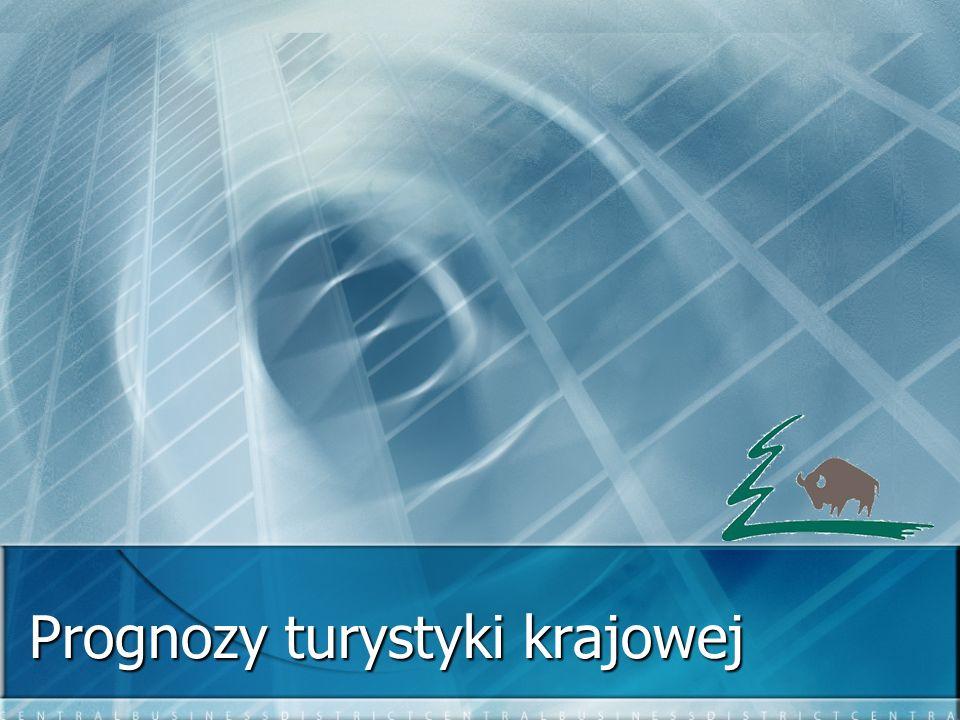 Korzystający z noclegów w województwie w latach 2000 – 2004 Źródło: Instytut Turystyki, GUS