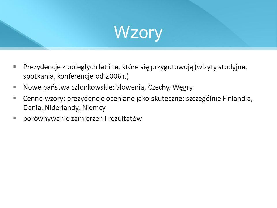 Trudne Trio Niewielka praktyka w zakresie współpracy trio (dopiero drugie) Konstrukcja pozatraktatowa W trio z Polską: Dania i Cypr Regularne konsultacje od początku 2008 r.